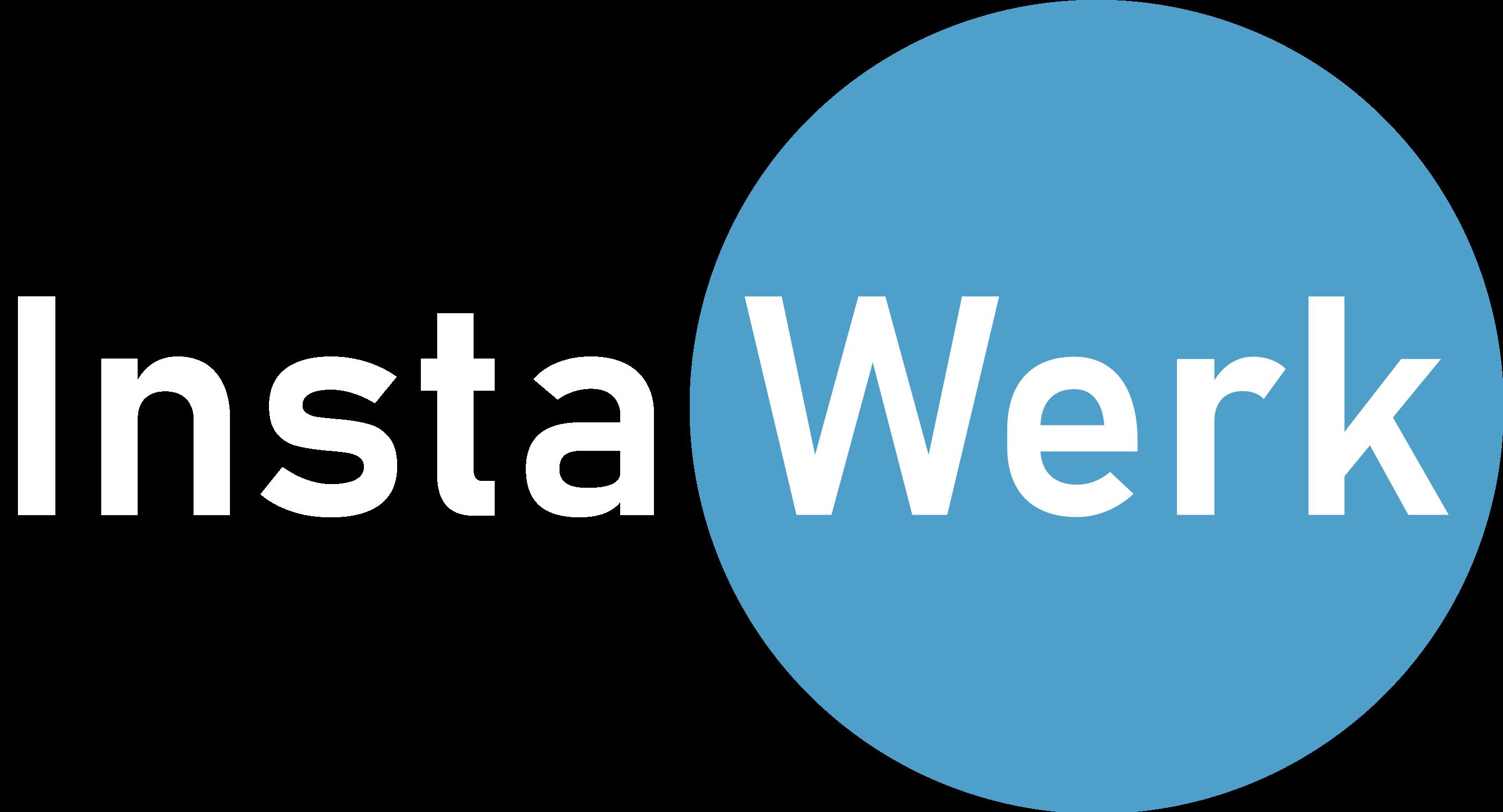Logo der InstaWerk GmbH - einem Online Fertiger für CNC Frästeile