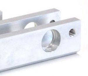 Diverse CNC-bearbeitete Bauteile