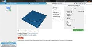 Online-Bestellung von CNC-Frästeilen