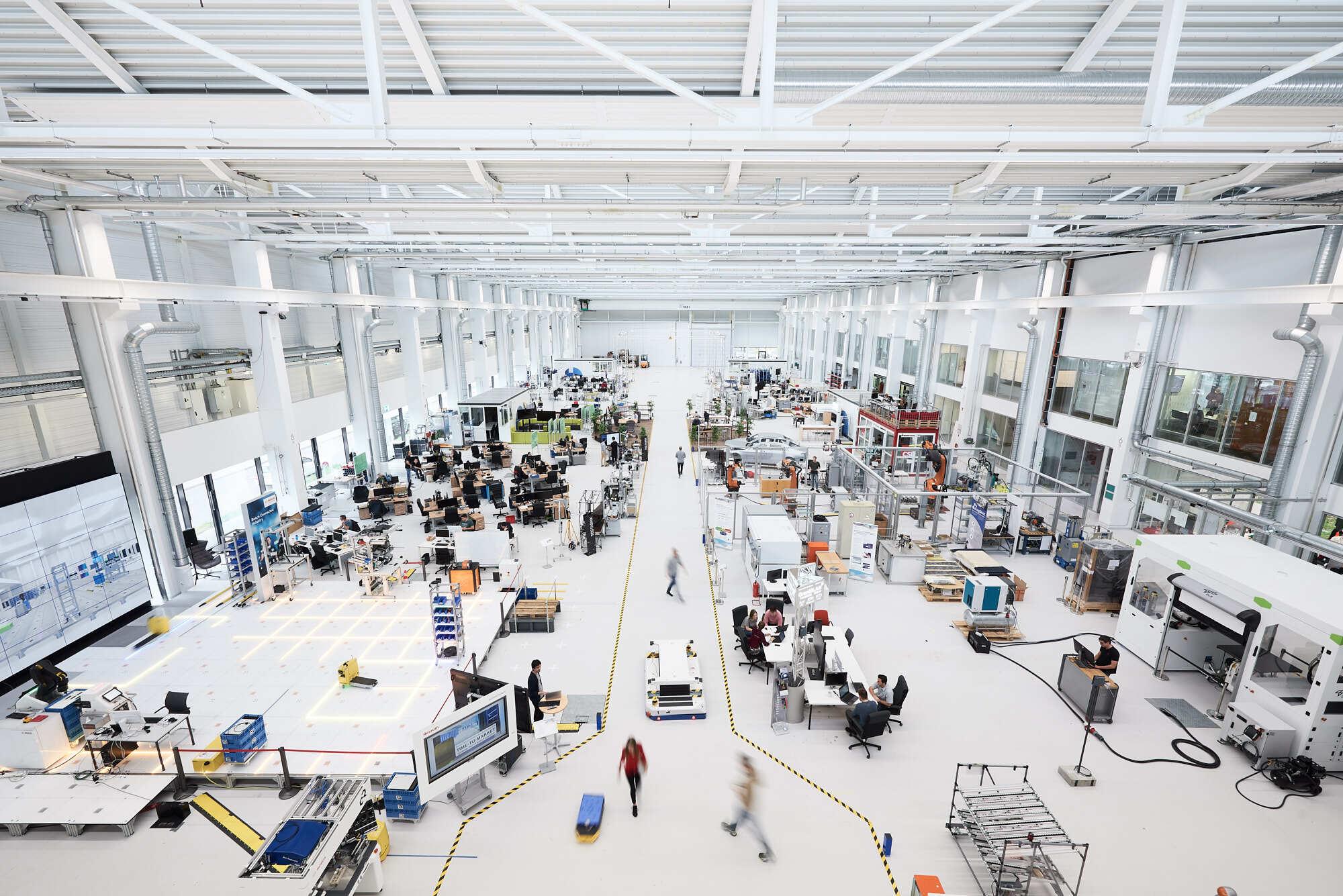 CNC-Fertigung in der ARENA2036 Halle